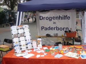 Stand Drogenhilfe paderborn