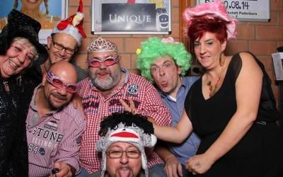 Herzenslust auf der Unique Party mit der Fotobox
