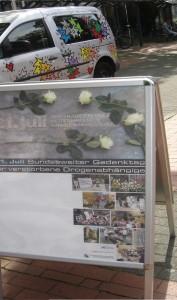 Aufsteller Plakat Gedenktag