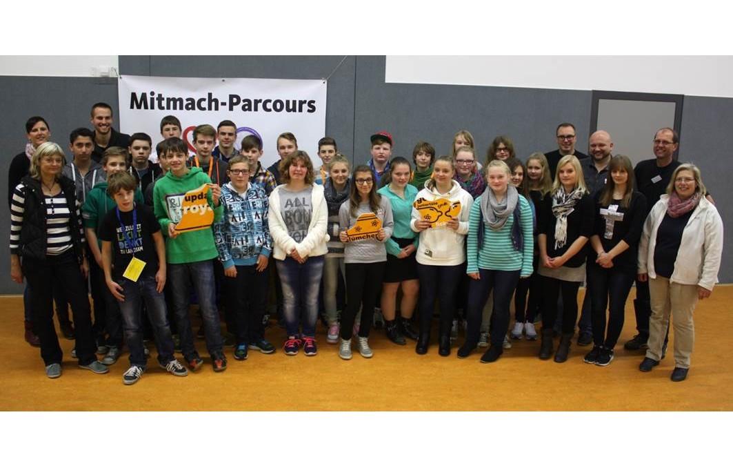 Mitmach-Parcours in Hövelhof zu Gast