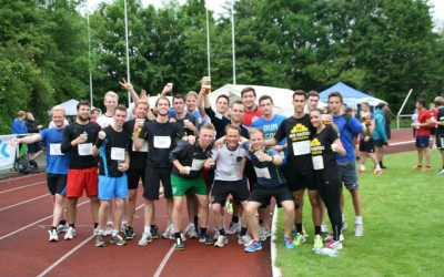 """Run for life"" beim Campuslauf 2015"