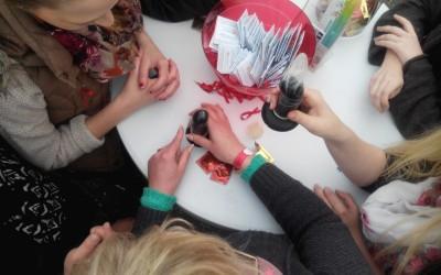 Kondomführerscheine beim AStA Sommerfestival 2015