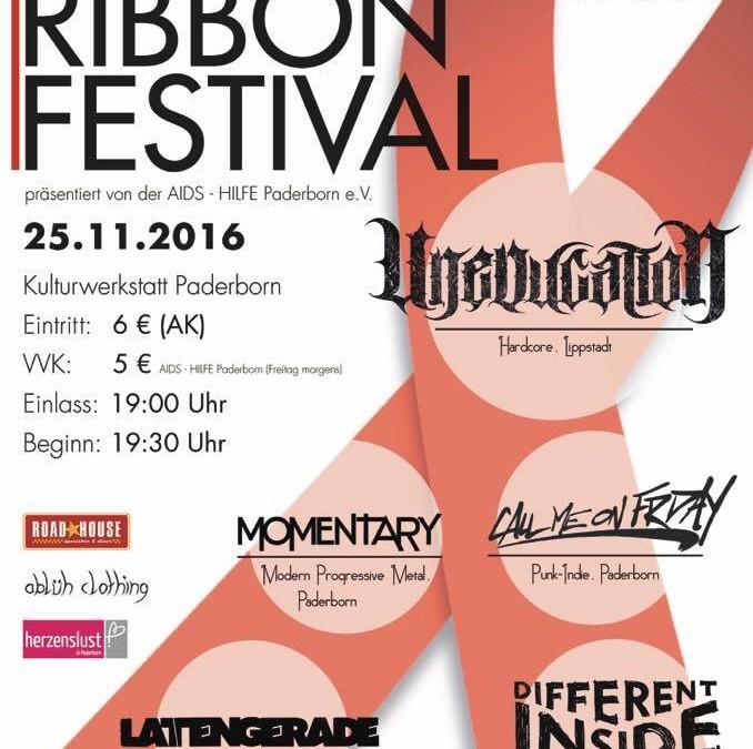 Red Ribbon Festival – Harte Musik für den guten Zweck