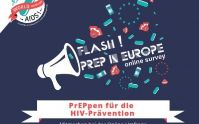 "Online-Befragung ""Flash! PrEP in Europe"""