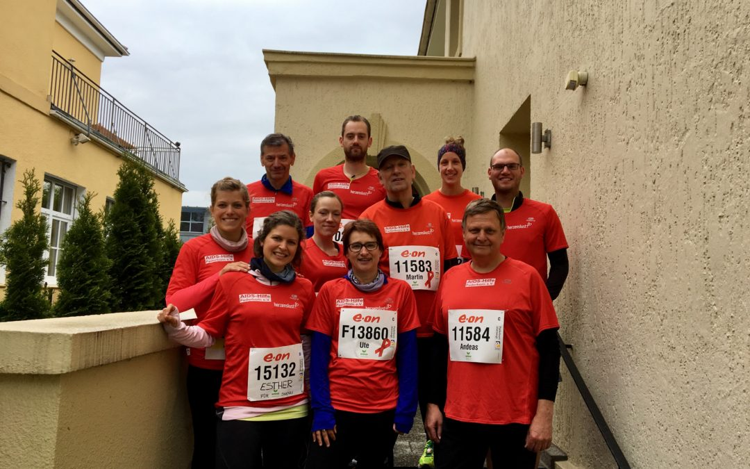 "Solidaritätslauf ""run for life"" beim Paderborner Osterlauf"