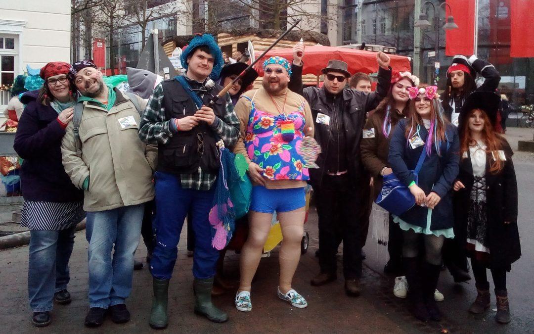Karnevalsparade 2018: Setzt die Segel, hisst die Flaggen!